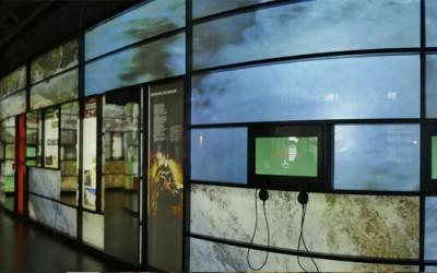 Scénographie audiovisuelle de Couesques
